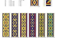 Card Weaving pattern