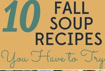 Fall Foods / fall recipes for your enjoyment