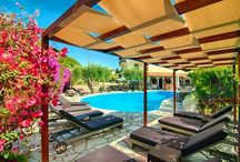 Hotel Mega Ammos ~ Pool / Hotel Mega Ammos is a medium sized family resort situated in a lavish olive garden, at Sivota, Thesprotia, Greece.