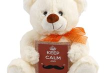 keep_calm Teddy Bears / Put a smile on someone's face no matter what the occasion! All Teddy Bears arrive with a gift card with your personalized message.