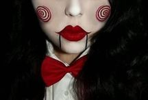 хеллоуин макияж