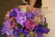 Perfectly Purple / The hottest trends in everything wedding, party, and otherwise that cover all shades of purple, and combinations with purple as a focus color