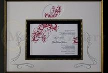 Framing of Wedding items / Save the memories that last a lifetime.