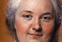 Z pastel, pencil.... portraits - ženy