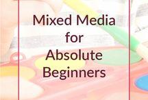 Mixed media art