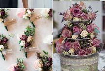 cores das flores para o casamento