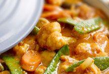 Indiase groenten curry
