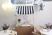 Cute kids party