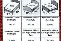 quilting and bed size info