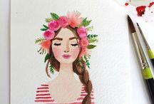Painting - Sketching