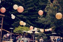 Garden wedding: Inspiration