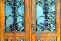 Doors. / Beautiful doors.