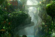 Fantasy forest / by Vincent Bezençon
