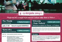Magic Malbork 2014 / Magiczna noc w magicznym mieście!  Jedyne takie show w Polsce! 8 - 9 sierpnia 2014r. w Malborku. Zapraszamy! Więcej na: www.magicmalbork.pl