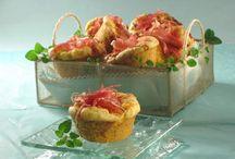 recepty - slané - muffiny