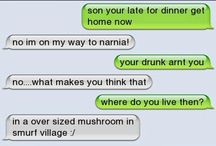 Text messages