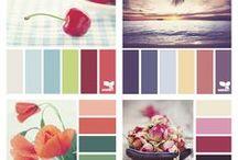 Combinaciones de colores / diseño de interior