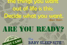 Sleep Training Boot Camp
