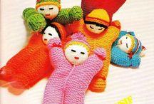 poupée tricot