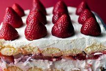 γλυκα με φράουλες ψυγειου