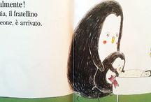 Un fratellino o una sorellina in arrivo? / Libri per bambini che parlano di fratellini o sorelline in arrivo