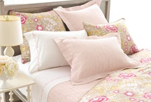 Feminine Bedding and Home Decorating  / Fresh, feminine and fab, with a distinctly Parisian flair with our collection of bedding, throws, sleepwear, table linens, and more.  / by Pine Cone Hill