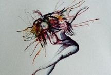 Malerier / Se gjerne flere på min hjemmeside