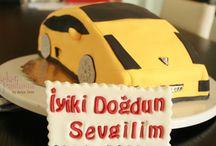 Taşıtlar (Hava-Kara-Deniz) / Pasta-Kurabiye-Cupcake