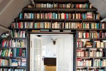 Reading Nook/Office/Library / by Dawne Novinger