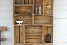 armario de caixas