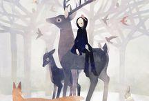 Meilie aime illustrations / by Meilie aime BY EM