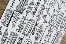 Billedkunst doodles