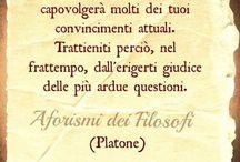 Filosofeggiare
