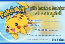 pokemon invitacion