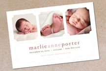 Birth announcements / by LaNae Matousek