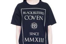 black printed