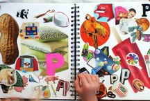 Alphabet and spelling ideas / by Shelley Hier