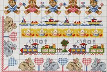 Cross Stitch Baby and Kid