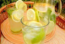 sirupy a limonády