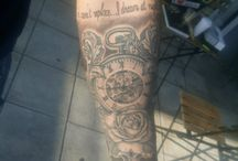 my half sleeve