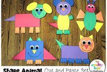 Animal shape craft