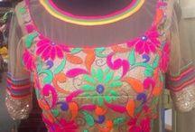 yellow saree blouse