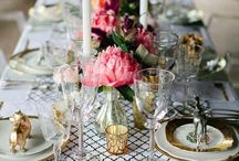 Tablescapes / Inspirational table decorating!