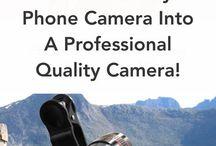 Transform Any Phone Camera Into A Professional Quality Camera!