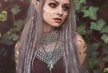 Fantasy clothes/make-up