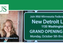 Detroit Lakes Office / A new Mid-Minnesota Federal Credit Union office is opening in Detroit Lakes on Oct. 5.