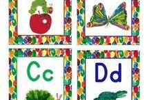 Classroom theme-Eric Carle