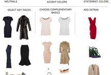 capsule wardrobe / barvy a kombinace