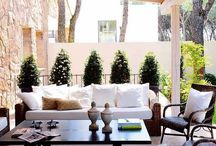 Outdoor Rooms / When the sun comes out in the Pacific Northwest everyone wants to get outside. Keep them close and cozy with these outdoor rooms