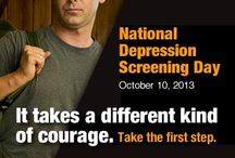 National Depression Screening Day / Each year, October 10th is National Depression Screening Day. Everyone is encouraged to take an anonymous mental health screening. There is an online site helpyourselfhelpothers.org and you can also participate in person if you prefer. Locations can be found on that same site.